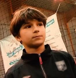 A Childhood Photo of Houssem Aouar