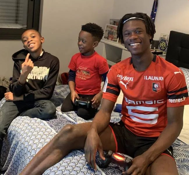 He is big on playing video games with his brothers