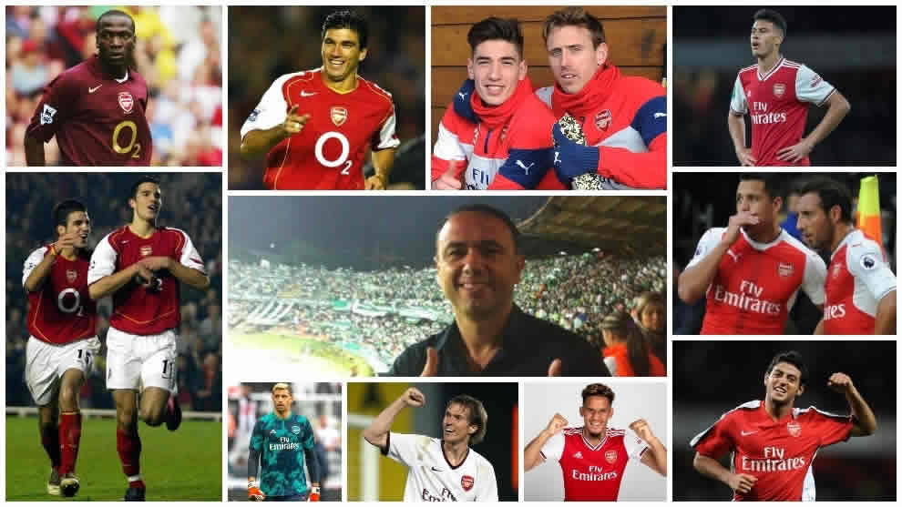 Francis Cagigao is known to have to brought many key players to Arsenal