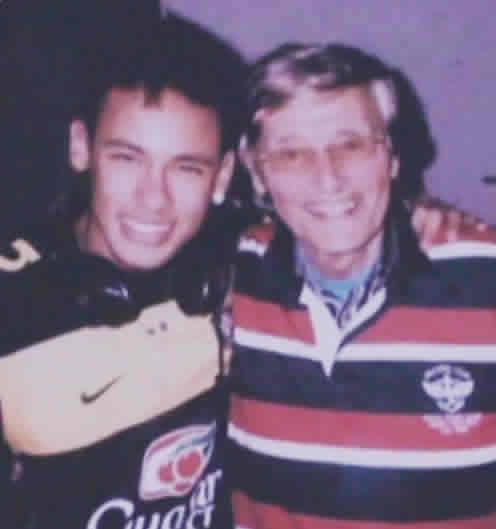 Piet de Visser with one of his Brazillian Discorveries