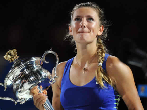 The 2012 Australian Open was her first title win