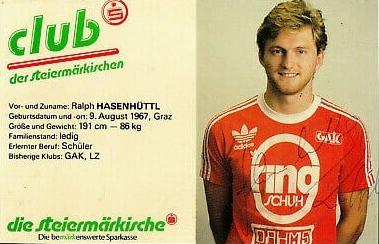 He began his career at GAK as a forward