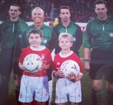 He used to serve as a mascot for Nottingham Forest