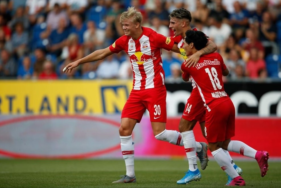 Szoboszlai improved on his football skills with the help of his team mate.