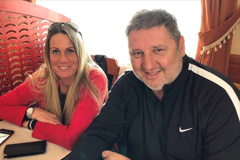 photo of Dominik Szoboszlai parents.