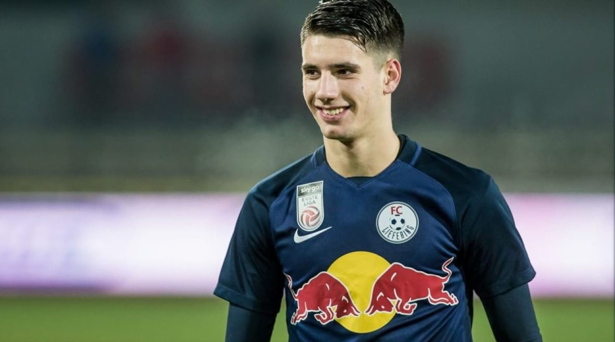 photo of Dominik Szoboszlai when he joined the