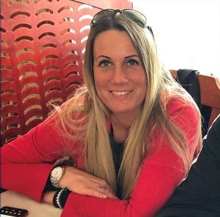 photo of Dominik Szoboszlai's beautiful mother.