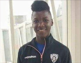 photo of Moises Caicedo during his early football days.