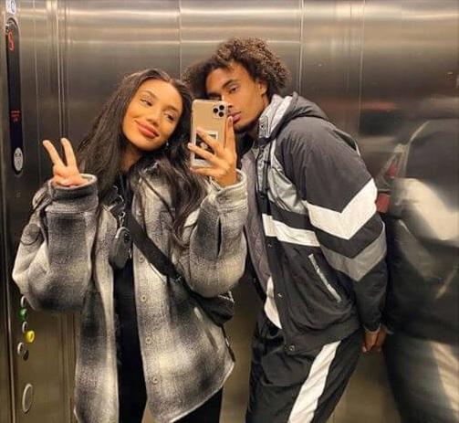 photo of joshua zirkee and his girlfriend.