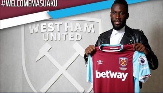photo of the defender at west ham.