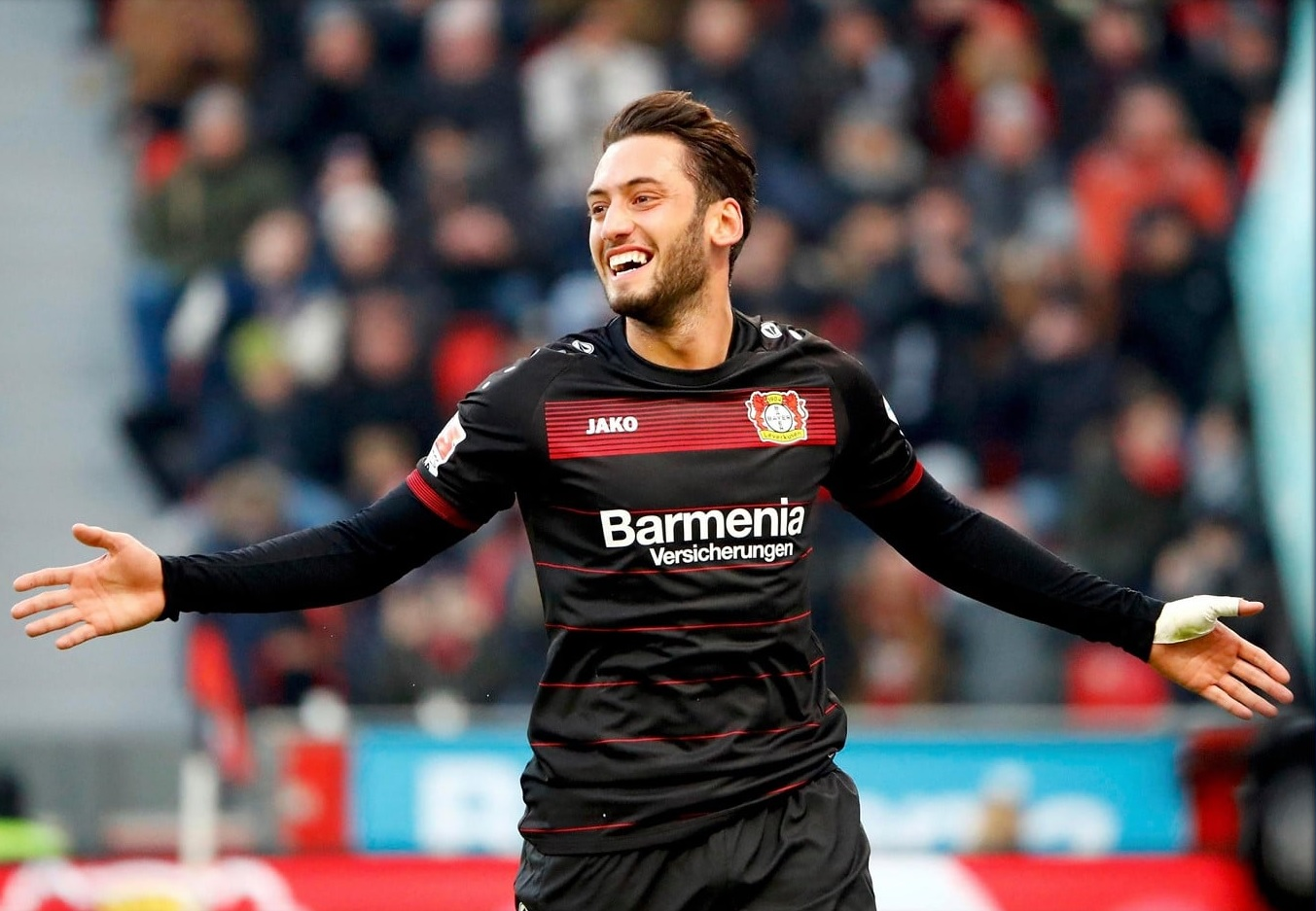 the experession on Calhanoglu's face when he scores a goal was priceless.