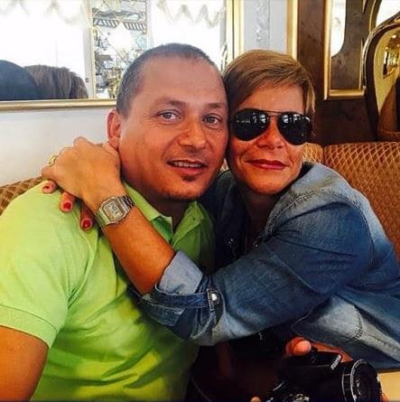 Photo of nicolo's parents.