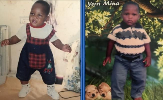 childhood photo of yerry