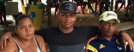 photo of Morelos with his parents.