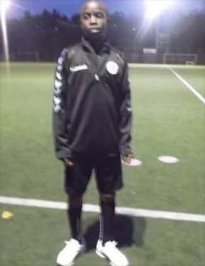 photo of Moukoko during his early career days.