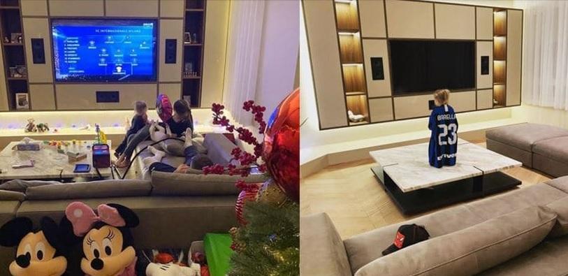 photo of the interior of nicolo's apartment.