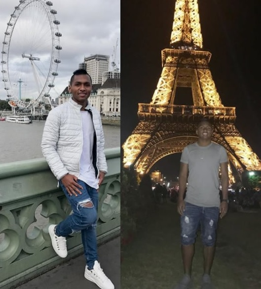 the footballer loves traveling rounfd the continent.